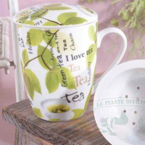 tazza tisaniera I love tea