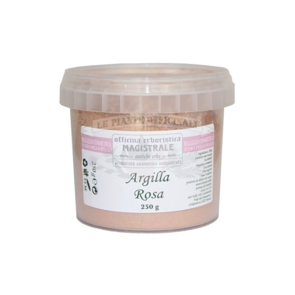 pink clay for masks