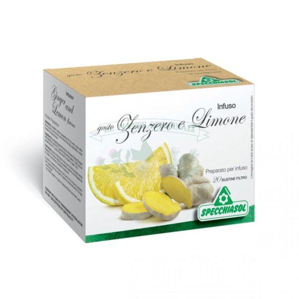 tisana digestiva zenzero e limone