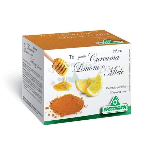 curcuma e miele tisana naturale