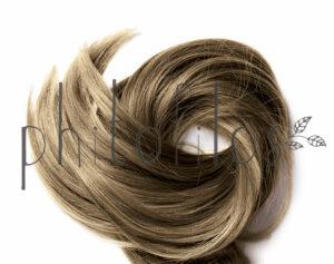 Hazelnut hair powder